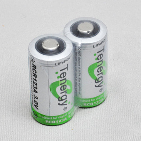 2 x Tenergy Rechargeable Batteries