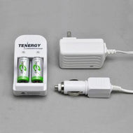Tenergy Charger & Spare Battery Kit