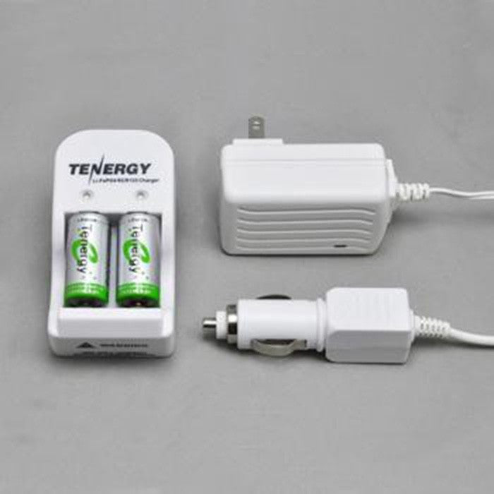 DISCONTINUED Tenergy Charger & Spare Battery Kit