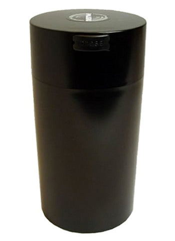 TightVac Vacuum Seal Container 1.3 Litre Black Top with Black Body