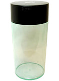 TightVac Vacuum Seal Container 2.35 Litre-Black Top with Clear Body
