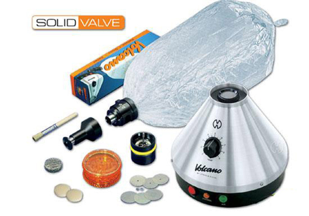 DISCONTINUED Classic Volcano Vaporizer w/ Solid Valve Starter Set