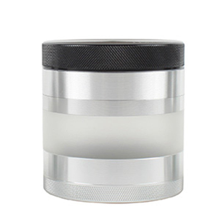 DISCONTINUED Kannastor 63mm 4pc Grinder/Sifter/FROSTED Jar