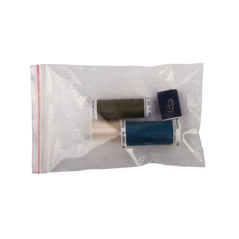 Zip Lock Bags 100mm x 150mm Thin