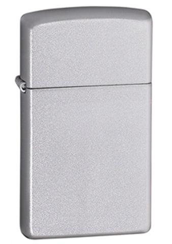 Zippo Satin Chrome Lighter - Slim