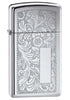 Zippo High-Polished Chrome Venetian Lighter - Slim
