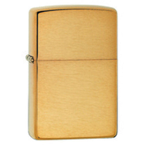 DISCONTINUED Zippo Armour Brushed Brass Lighter