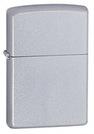 Zippo Classic Satin Finish Chrome Lighter