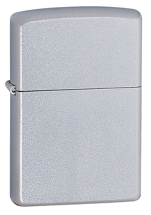 DISCONTINUED Zippo Classic Satin Finish Chrome Lighter
