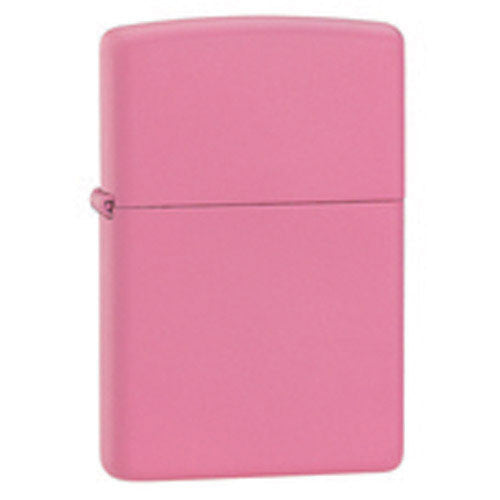 DISCONTINUED Zippo Pink Matte Lighter