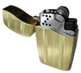 Zippo Blu Vertical Gold Ribbon Lighter