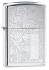 Zippo High-Polished Chrome Venetian Lighter