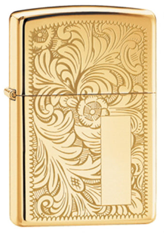 Zippo High-Polished Brass Venetian Lighter