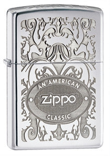 "Zippo Crown Stamp ""American Classic"" Lighter"