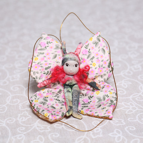 Butterfly Fairy in Mixed Colours (20cm)