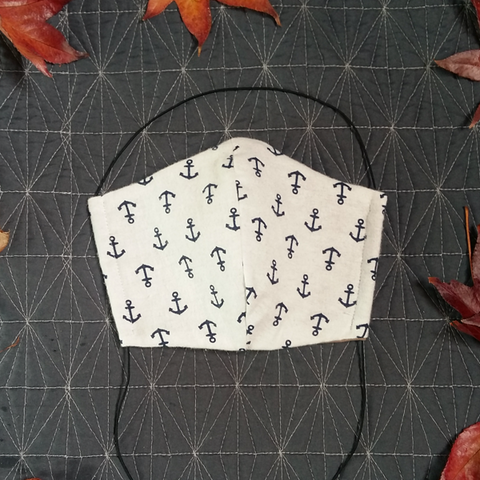 Nautical - Fabric Face Mask