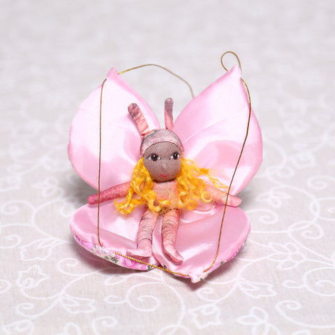 Butterfly Fairy in Pink (20cm)