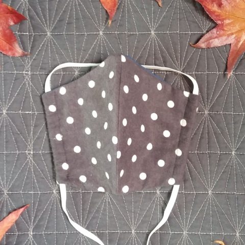 Polka Dot - Fabric Face Mask