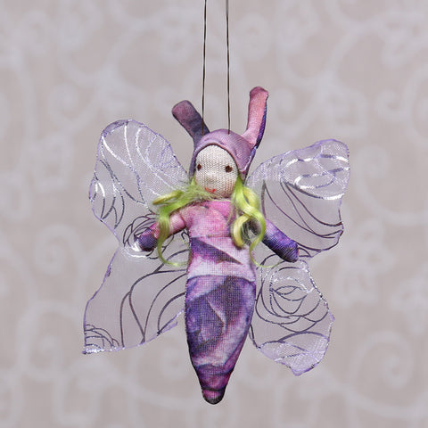Baby Butterfly in Purple (7cm)