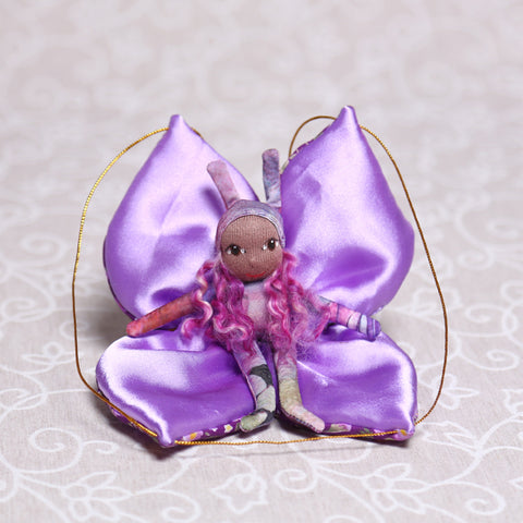 Butterfly Fairy in Purple (20cm)