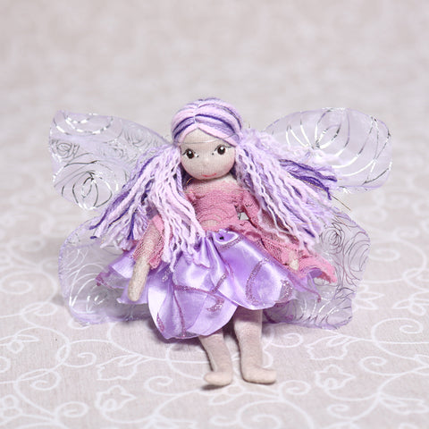Flower Fairy in Purple (20cm)