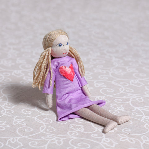 Large Soulplay Girl in Purple (30cm)