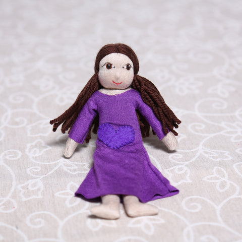 Small Soulplay Girl in Purple (22cm)