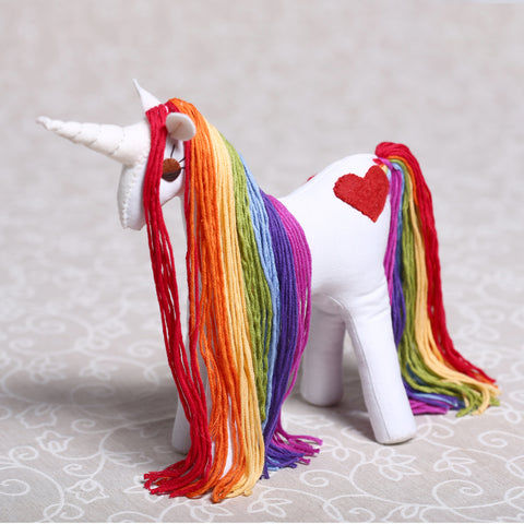 Small Rainbow Unicorn (24cm)