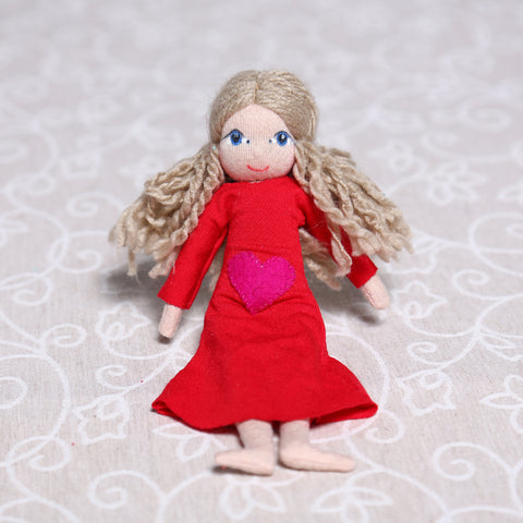 Small Soulplay Girl in Red (22cm)