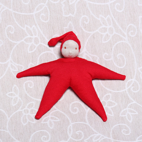 Star Baby in Red (20cm)