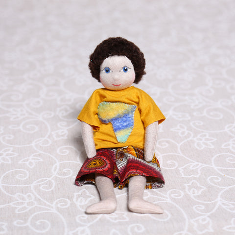 Large Soulplay Boy in Yellow (30cm)