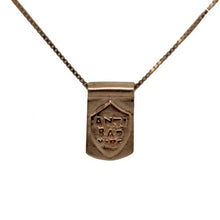 Storm Boy Label Anti Bad Tag Necklace Rose Gold