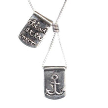 Storm Boy Label O Mar Necklace Silver
