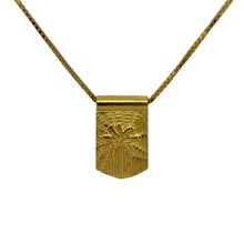 Jai Vasicek Storm Boy Label Good Vibes Necklace Gold