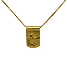 Storm Boy Label Beija Flor / Hummingbird Necklace Gold
