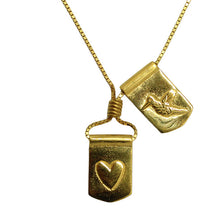 Storm Boy Label Humming To My Heart Necklace Gold