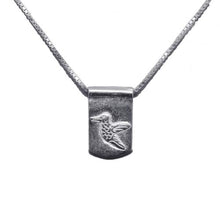 Storm Boy Label Beija Flor / Hummingbird Necklace Silver