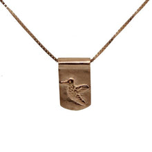 Storm Boy Label Beija Flor / Hummingbird Necklace Rose Gold