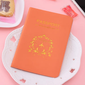 Candy Colored Passport Cover