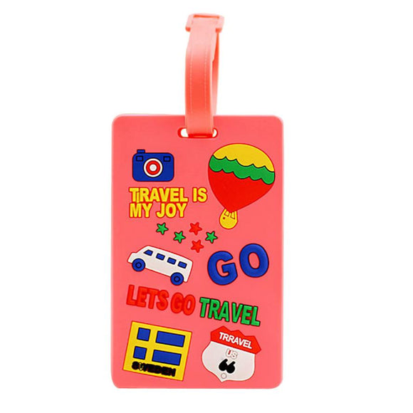 Let's Go Travel Luggage Tag