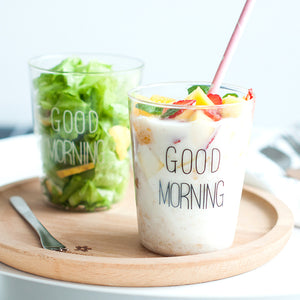 """Good Morning"" Breakfast Smoothie Cup"