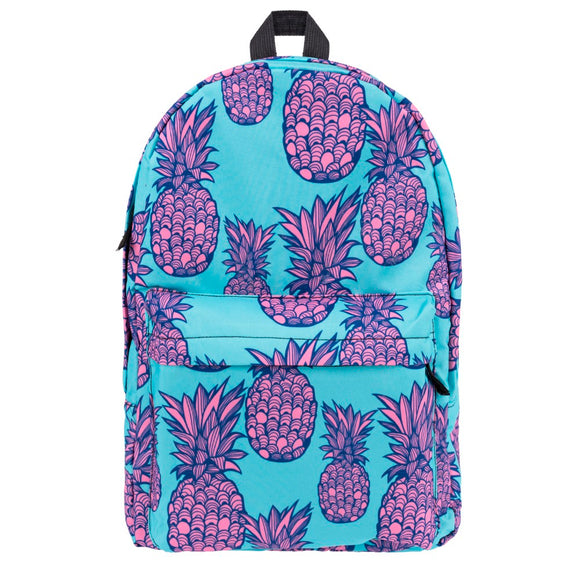 Fuschia Pineapple Backpack
