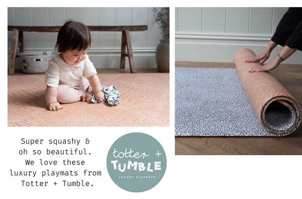 totter and tumble playmats