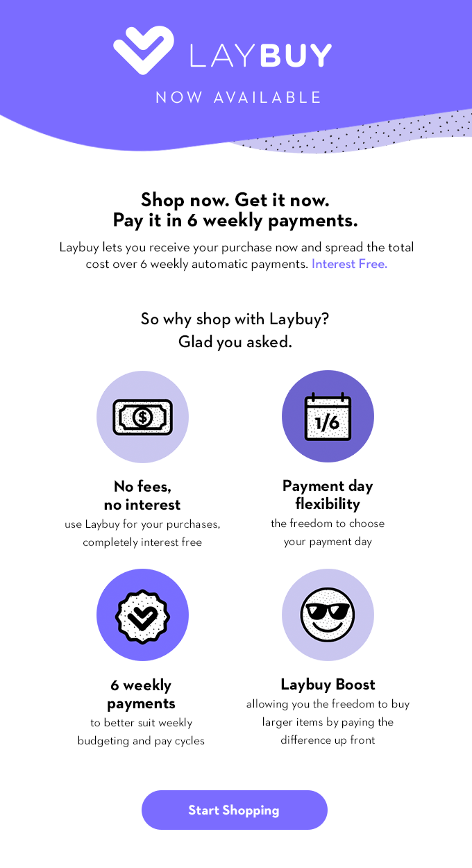 Pay by Laybuy | Sisi & Seb