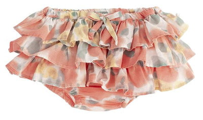 Tocoto Vintage Baby Floral Printed Ruffle Bloomers