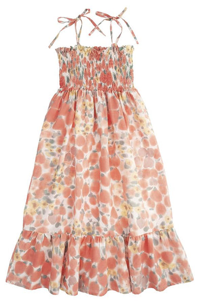 Tocoto Vintage Floral Printed Maxi Dress