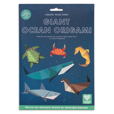 Clockwork Soldier: Create Your Own Giant Ocean Origami