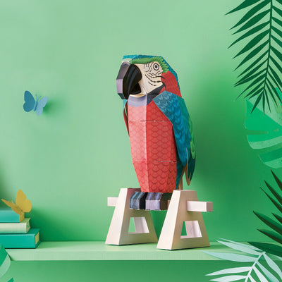 Clockwork Soldier: Create Your Own Parrot on a Perch