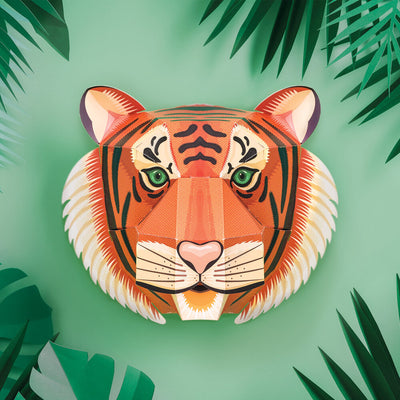 Clockwork Soldier: Create Your Own Majestic Tiger Head