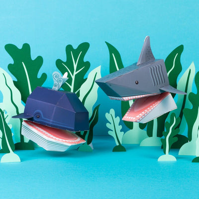 Clockwork Soldier: Create Your Own Ocean Puppets